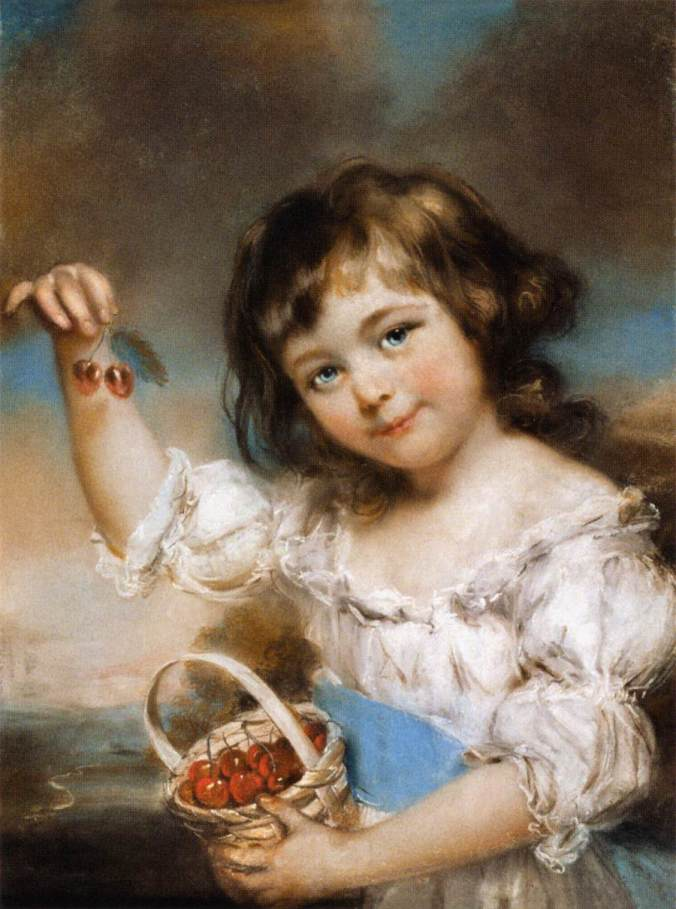 small-girl-presenting-cherries-1780